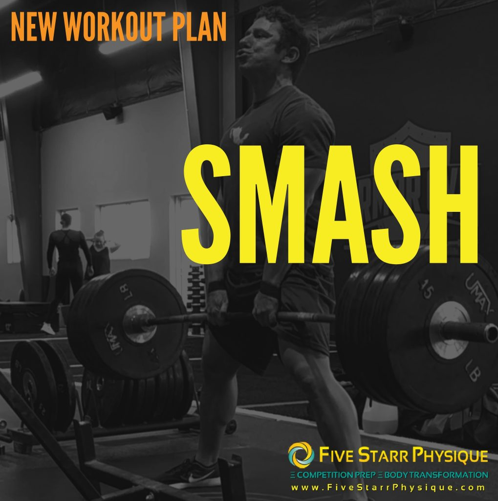 Darin deadlifting 405 - check out SMASH, his new powerlifting/strength-based training program at FiveStarrPhysique.com