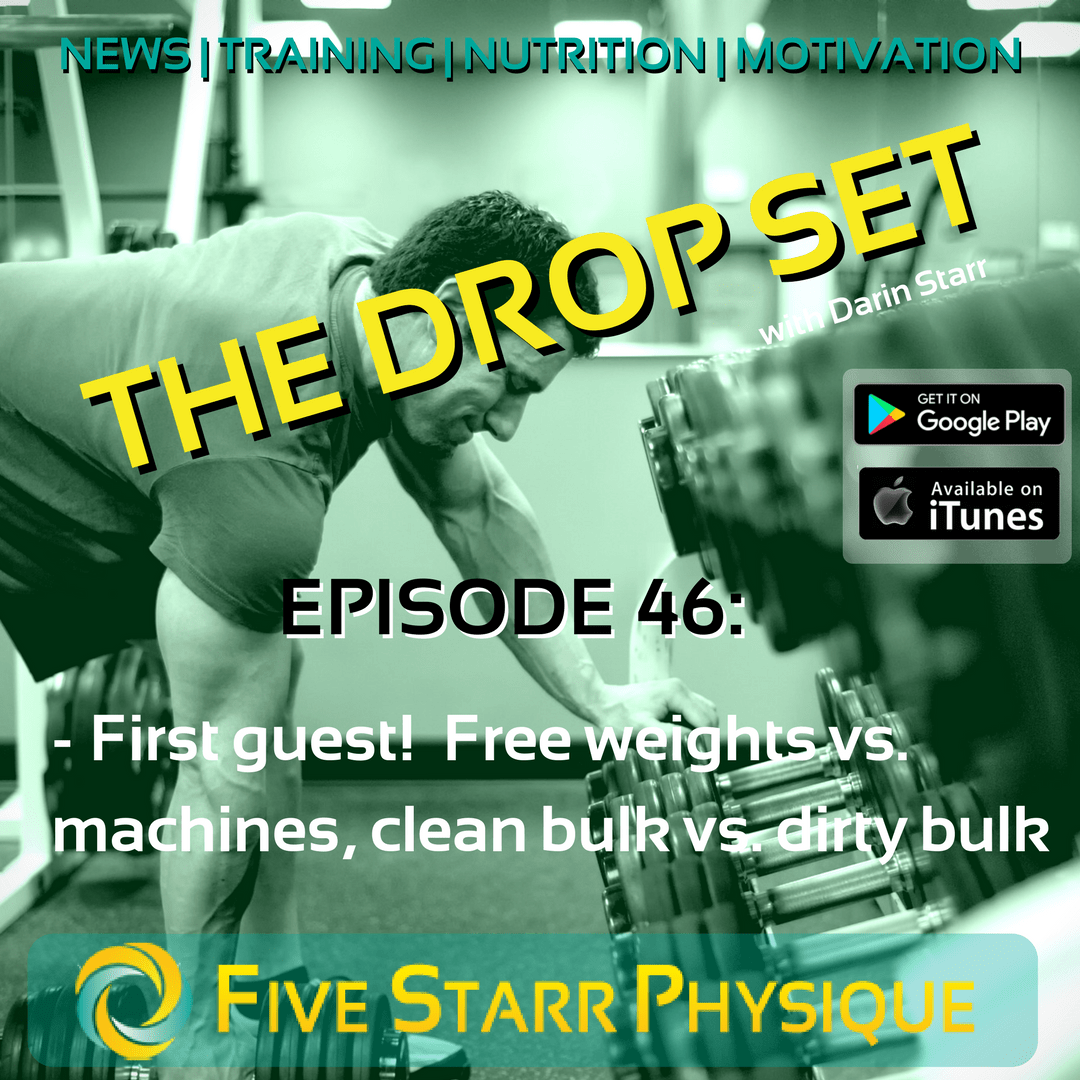 Free Weights Vs Machines: Episode 46: First Guest! Free Weights Vs