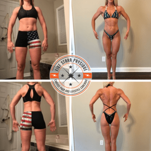 FSP client Mary before & after