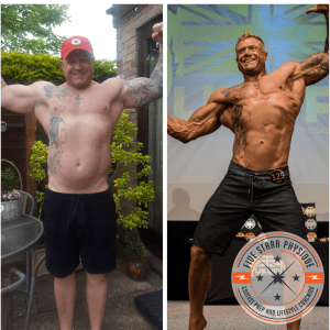 FSP client Vinny before & after